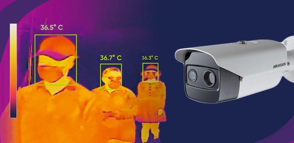 Soluciones termográficas de detección de temperatura de Hikvision